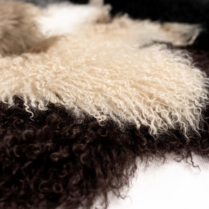 Peau de mouton de Mongolie