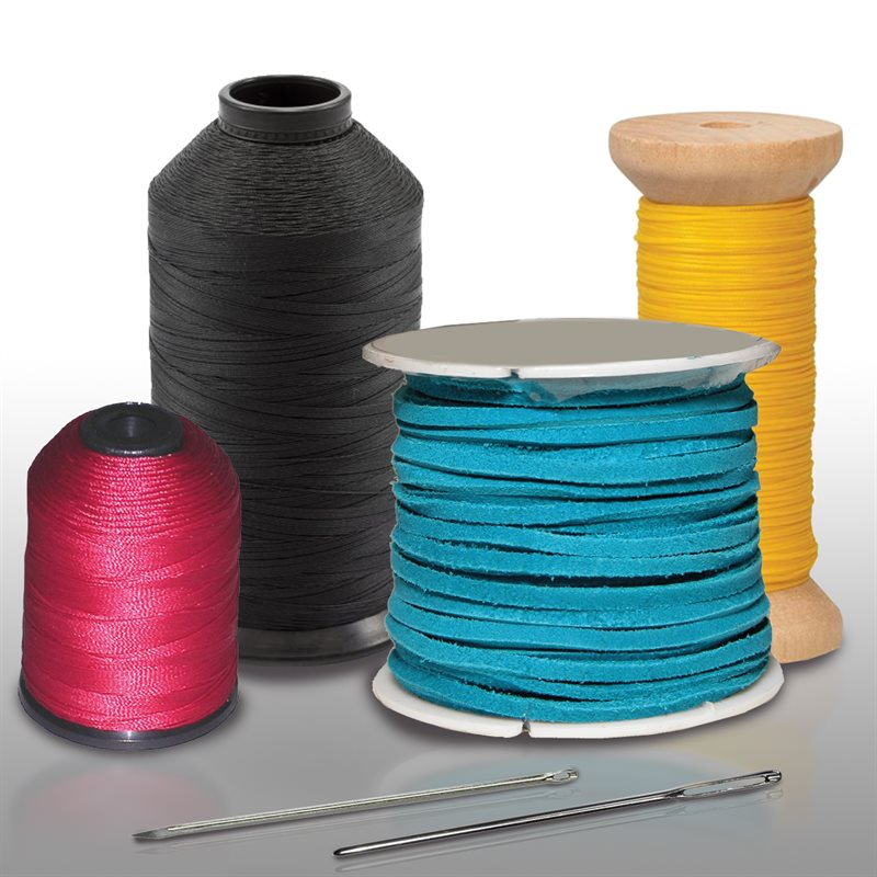 Thread, laces and needles