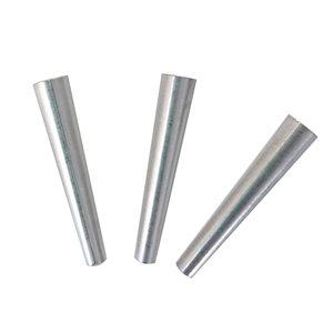 """Cônes aluminium nickel 37 mm (1-1 / 2"""") (100)"""