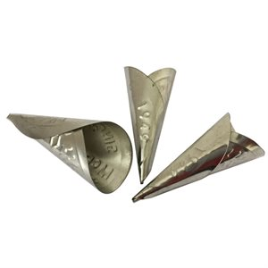 Cônes embossés Mc Pherson 64 mm aluminium (25)
