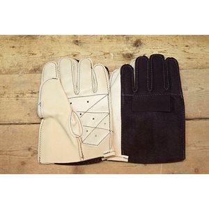 Gant de remplacement pour bloqueur de gardien de but, cuir et clarino, main normale d'adulte