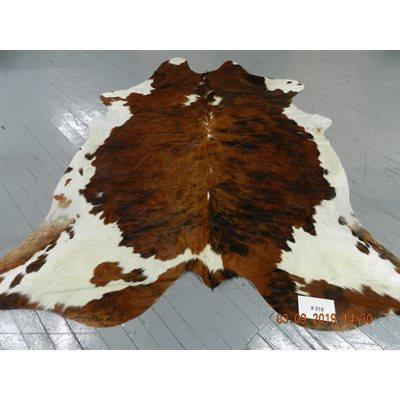 Tapis peau de vache exotique ventre blanc