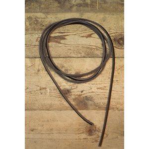 """Lacet de cuir taillé 1 / 8"""" (3mm) - par sac de 100 par couleur"""