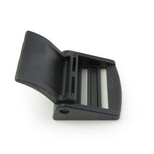"""Boucle à levier CAM 3 / 4"""" en nylon noir (Min. 12)"""