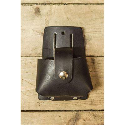 Porte ruban à mesurer de 25', pochette et languette de sécurité en cuir, minimum 6