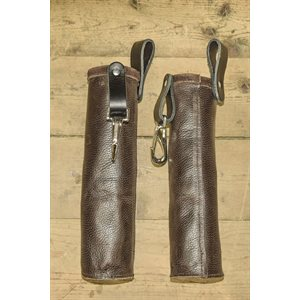 Soft leather case for welding electrode