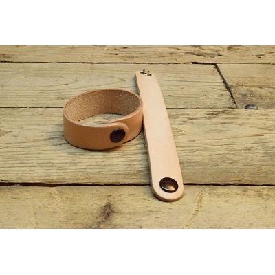 Bracelet en cuir végétal naturel