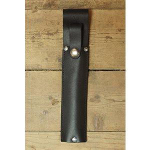 Étui pour clef de scie à chaîne, cuir noir