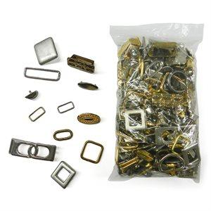 Surprise ! Petit sac de décorations métalliques assorties LIQUIDATION
