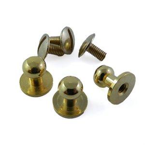 Piolino laiton fini or - 9 mm X 6 mm X 9 mm (un)