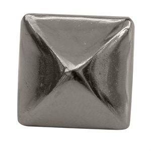 """Pyramides 3 / 8"""" en nickel sur laiton (antirouille) (100)"""
