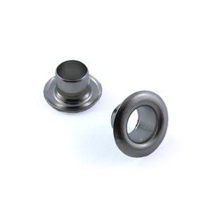 """Oeillets 1 / 4"""" #50 - #1450 nickel (acier) (100)"""