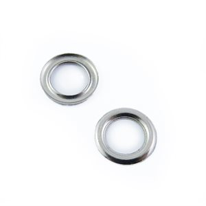 "Rondelles 1 / 2"" #4 sheet (AR) nickel (100)"